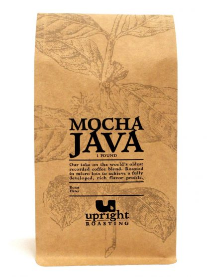 Mocha Java 1lb Upright Roasting