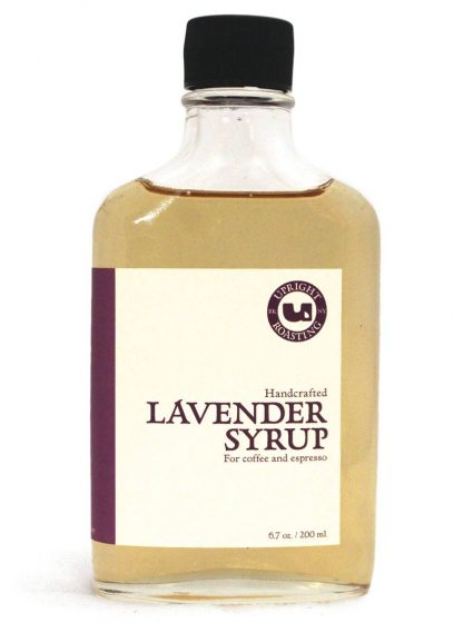 Lavender Syrup Bottle